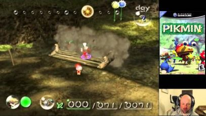 Pikmin On The Nintendo Gamecube Pt2 Gameplay Chat Retrounlim