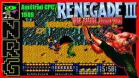 NRG: 5-10 Minutes of Gameplay – Renegade III The Final Chapter [Amstrad CPC]