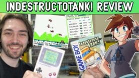 IndestructoTank! Game Boy Homebrew Review – A Flash Classic Reimagined! (GBDK)