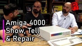 """Fixing """"Retro Hour"""" Ravi's Commodore Amiga A4000 (As seen on RMC) – Part 1"""
